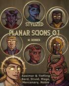 Stylized: Planar Scions 01