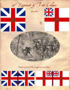 1751-68 43rd Regiment of Foot Flags
