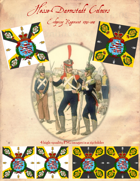 1795-1813 Hesse-Darmstadt Regiment Erbprinz Flags
