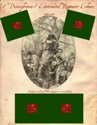 1776-1783 1st Pennsylvania/1st Continental Flag