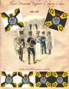 1814-1864 Hesse-Darmstadt Erbprinz Regiment Flag