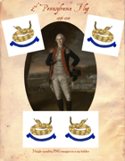 1776-1783 2nd Pennsylvania Flag