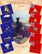 1748 Philadelphia Associators Flags #1