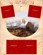 "1776 Long Island ""Liberty"" Flag"