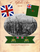 1777-1784 British 76th Highlanders Flags