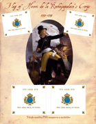 1793-1794 Vendee Henri de la Rochejaquelein Flag