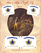 1793-1815 Armee Catholique et Royale Flag
