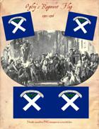 1745-1746 Ogilvy's Regiment Flag