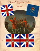 1745-1746 Barrell's Regiment of Foot Flags