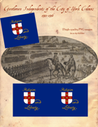 1745-1746 Gentlemen Independents of the City of York Flag