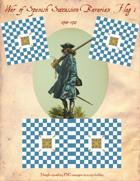 1700-1713 Bavarian Regimental Flag #1
