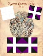 1776-1783 Regiment Gatinois Flags