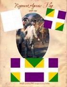 1776-1791 Regiment Agenois Flags
