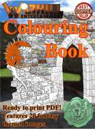 Wolfhill Colouring Book