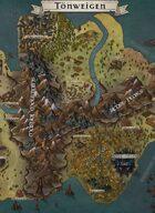 """""""Tönweigen"""" Continent Map"""