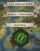 World / Continent Map Bundle [BUNDLE]
