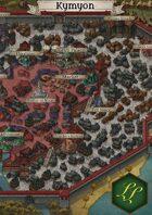 """Kymyon"" City Map"