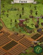 """Farna"" Farming Town Map"