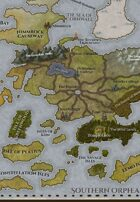"""Mariada"" World Island Continent Map"