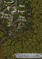 """Garden Caslte"" Forest Structure Castle Map"