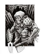 NerdGore Stock Art: Iron Adventurer