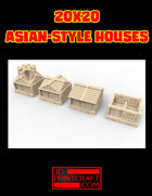 20x20 Asian-Style House