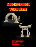 Moon Bridge and Torii Gate