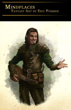 Half-elf Bard Stock Art