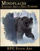Angry Bear RPG Stock Art