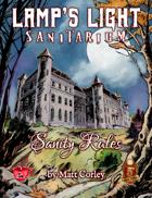 Lamp\'s Lamp: Sanity Rules & Sanitarium Staff Bundle for 5e