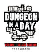 Dungeon in a Day: Deluxe Edition | Volume 1 (5' X 5' scale)