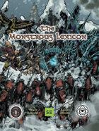 The Monstrous Lexicon