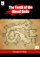 The Tomb of the Blood Gods (Dungeon Map)