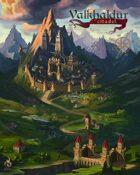 Valkhaldur Citadel 16x20 Poster