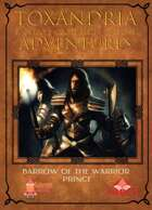 Barrow of the Warrior Prince - A Toxandria Adventure