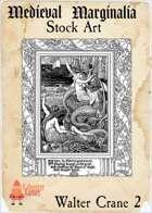 Medieval Marginalia - Walter Crane - FULL PAGE STOCK ART
