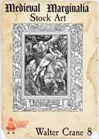 Medieval Marginalia - Walter Crane #8 - FULL PAGE STOCK ART