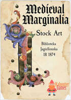 Medieval Marginalia - Illuminated Capital I - STOCK ART