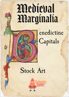 Medieval Marginalia - Floral Capitals - STOCK ART