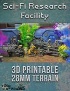 28mm Sci-Fi Research Facility