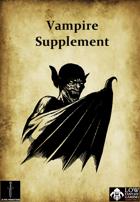 Low Fantasy Gaming: Vampire Supplement