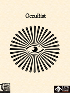Low Fantasy Gaming: Occultist Class