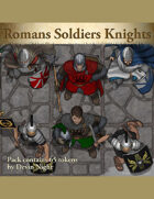 Devin Token Pack 100 - Romans Soldiers, Knights
