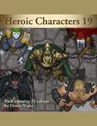 Devin Token Pack 104 - Heroic Characters 19