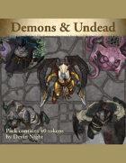 Devin Token Pack 106 - Demons & Undead