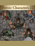 Devin Token Pack 109 - Heroic Characters 22