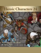 Devin Token Pack 113 - Heroic Characters 24