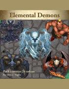 Devin Token Pack 115 - Elemental Demons