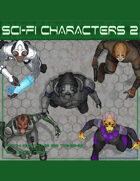 Devin Token Pack 120 - Sci-fi Characters 2