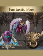 Devin Token Pack 127 - Fantastic Foes
